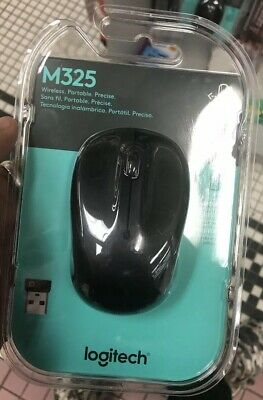 LOGITECH M325 WIRELESS Mouse with unifying receiver for PC