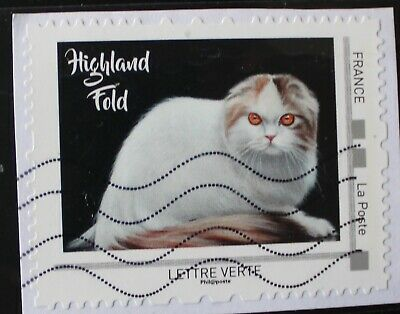 Timbre Collector Oblitere - Highland Feld - Chat