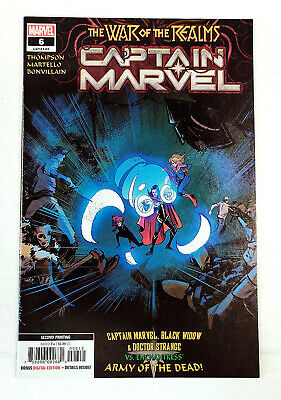 Captain Marvel #6 2nd Printing Variant (2019, Marvel) - VF/NEW