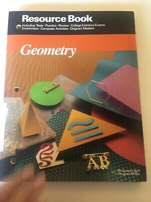 MCDOUGAL LITTELL JURGENSEN GEOMETRY RESOURCE BOOK Geometry Jurgensen Brown