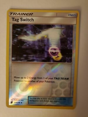 Tag Switch (Reverse Holo) 209/236 (Unified Minds)