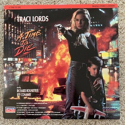 A Time To Die Laserdisc - Traci Lords - VERY RARE