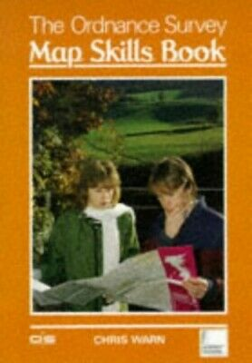 The Ordnance Survey:  Map Skills Book by Warn, Chris Paperback Book The Cheap