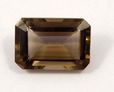 Treated  Faceted Smoky Loose Gemstones 13 CT 16x11 mm NG1616