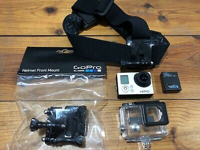 GoPro HERO3 Action Camcorder - Silver (Bonus Accessories)