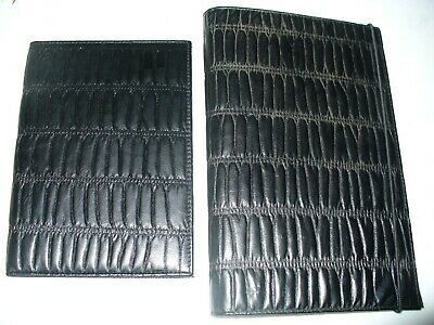 Black Modish Book Cover and matching Cards Folder