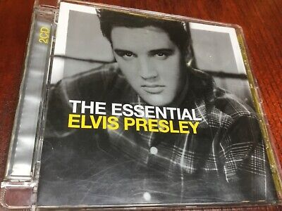 The Essential Elvis Presley - 2 X Greatest Hits Cd Set - Suspicious Minds +