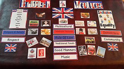 *NEW* BRITISH VALUES DISPLAY SET- OFSTED Includes diversity,inclusion & equality