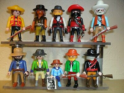 PLAYMOBIL WESTERN COWBOYS with weapons (spare people,Men,Wild West)
