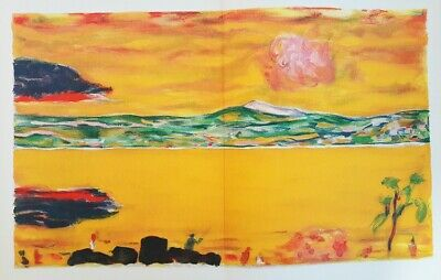 "1969 Vintage BONNARD /""TEA or THE BLUE TOQUE/"" COLOR offset Lithograph"