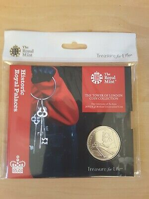 Royal Mint 2019 Ceremony Of The Keys BU £5 From The Tower Of London Coin Set