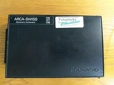 Polaroid Arca-Swiss 105 107 108  back film 6x4,5 fits Mamiya camera