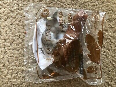 McDonalds THE LION KING Happy Meal ToY Toys 2019 DISNEY  #8 PUMBAA