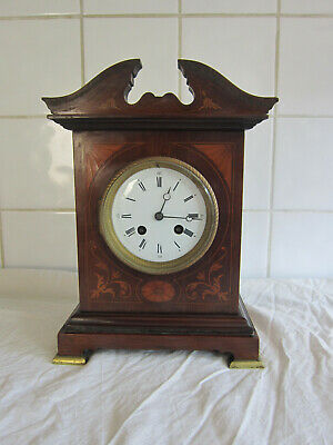 Fine Quality French Mahogany Chiming Bracket Clock- Circa 1900-Marti