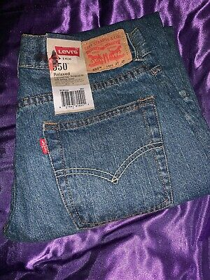 Levis Levi Strauss 550 Jeans 14 Reg Boys 27 X 27 Relaxed