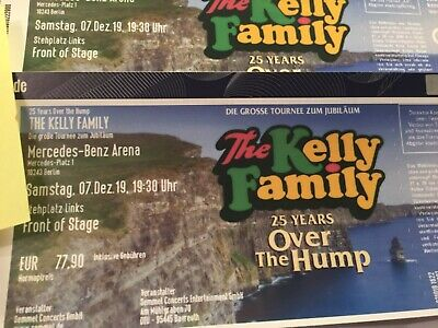 2x FOS Kelly Family 25 Years Over The Hump Berlin 07.12.19