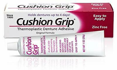 Cushion Grip - a Soft Pliable Thermoplastic for Refitting and Tightening Denture