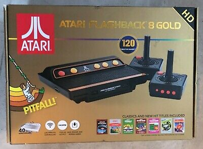 Atari Flashback 8 Gold HD Classic Video Game Console New