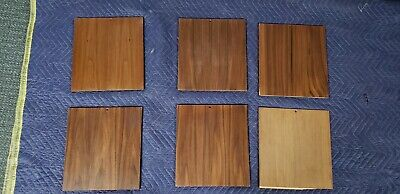 ULTRA RARE! Herman Miller George Nelson CSS Walnut Side Enclosure Panels 6 total