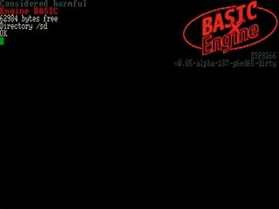 Basic Engine Computer - a Programmer's computer for fun or learning
