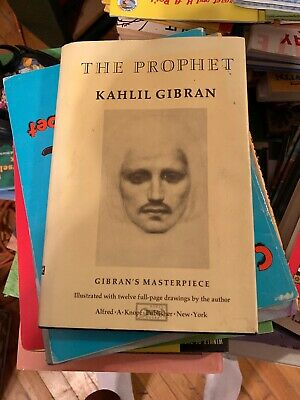 NEW THE PROPHET by Kahlil Gibran Bonded Leather Collectible