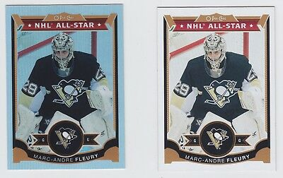 2015-16 Upper Deck O-Pee-Chee Marc-Andre Fleury Platinum, Base (Both Cards) #202