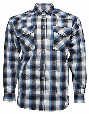 Ritemate Pilbara Check Double Pocket Shirt SALE SALE SALE RRP 69.99