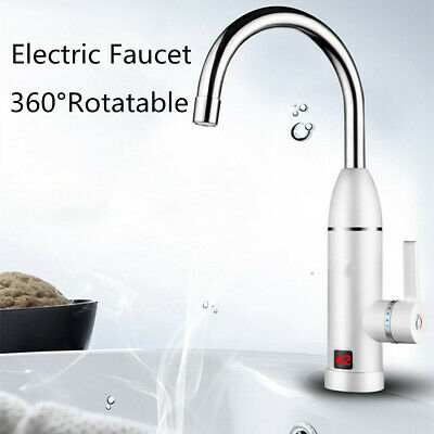 Sink Faucet Instant Electric Hot Water Heater Kitchen Toilet