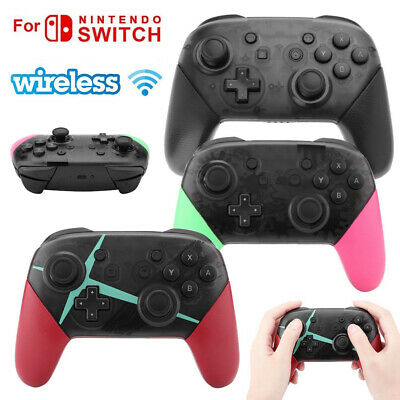 Wireless Bluetooth Pro Controller Gamepad Charging Cable for Nintendo Switch HD