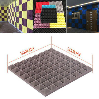50x50x5cm Soundproof Sponge Sound Absorption Foam For Acoustic Sound Stop