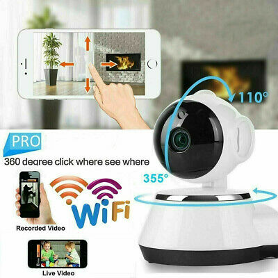 1080P HD Wireless WIFI IP CCTV Camera Smart Home Security Night Vision Indoor