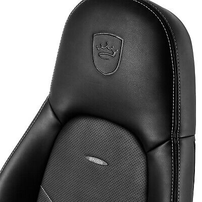 Seat Back Replacement - Noblechairs ICON - brand new - PU - Black&White