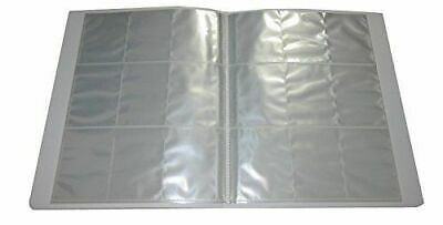 Empty Trading Card Binder Folder 20 Pages of 9 (Holds 180 or 360 cards!) NEW