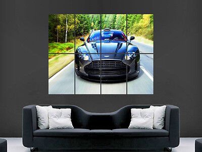 Aston Martin  Supercar Fast Sexy Hot Art Wall Large Image Giant Poster