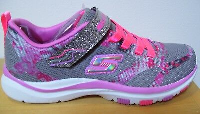 SKECHERS GIRLS YOUTH 5 Womens 6.5 Bright Racer Sneakers Pink