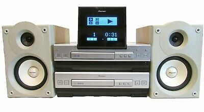 Pioneer Stereo CD Receiver XC-L5 INTEGRATED AMPLIFIER CASSETTE DECK AND SPEAKERS