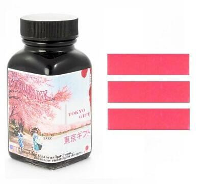Noodlers Fountain Pen Ink Bottle - Tokyo Gift, Cherry Blossom Pink, New