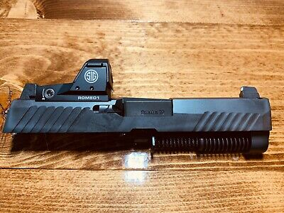 SIG SAUER COMPLETE Factory Slide P320 RX Compact Size w/ Romeo1 Sight 9mm