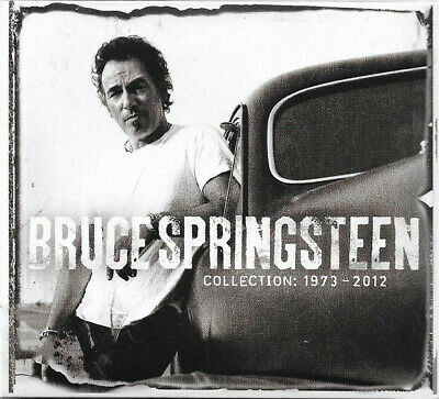 BRUCE SPRINGSTEEN - Collection: 1973-2012 (CD, 2013, Columbia)  ** IMPORT **