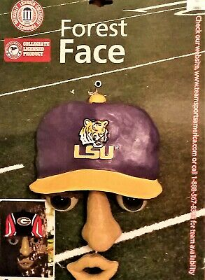 LSU Tigers Forest Face Decoration - NCAA