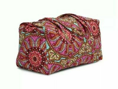 NWT Vera Bradley Resort Medallion XL Duffel Bag Travel Gym Overnight $85