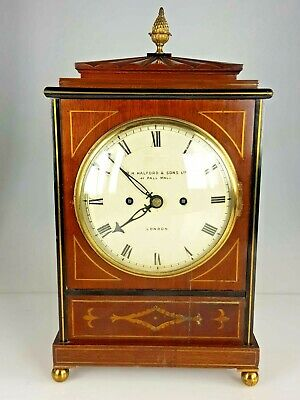 Regency Double Fusee Bracket Clock R.H HALFORD SON LONDON,