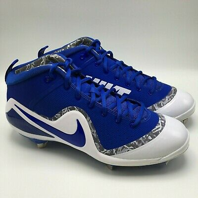 NEW Nike Men Zoom Trout 4 Metal Baseball Cleats Size 11.5 917837-444 2070