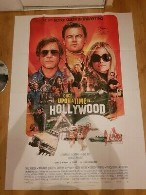 Affiche cinéma grand format Once upon a time in Hollywood