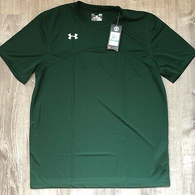 NEW men's UNDER ARMOUR Green heatgear loose fitted T-SHIRT size L