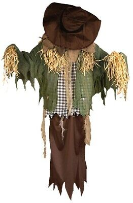 Hanging Surprise Scarecrow Animated Prop Life Size Haunted House Halloween