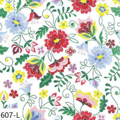 TWO New Paper Luncheon Decoupage Napkins - FLOWERS, STITCHED, EMBRODERY, (607)