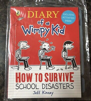 Diary Of A Wimpy Kid,How To Survive School Disasters McDonald's Happy Meal Book