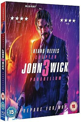 JOHN WICK: CHAPTER 3 - PARABELLUM (2019): Keanu Reeves - NEW Eu RgB BLU-RAY
