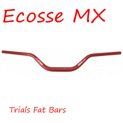 "APICO Trials Fatbars Fat Bars RED Beta Gasgas Montesa TRS 6.0"" Rise"